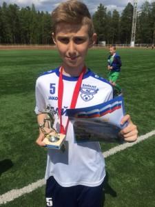 Лучший защитник Дмитрий Ермаков