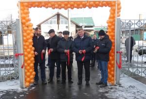 Делегация нашей школы побывала  в Нижнеудинске на открытии нового футбольного поля.