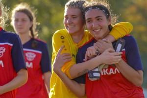 Мы — в призах! Женский «Байкал»в заключительном матче переиграл ростовскую «Юнону» 2:0.